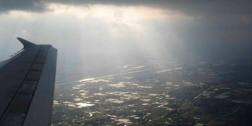 Aerospace uv and rain simulation